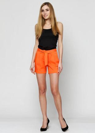 Яркие,красивые,плотные шорты с завышенной талией,xs