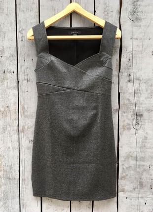 💣 цены снижено !  шикарное платье с серебряной нитью 🔥 короткое платье коктейльное