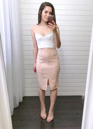 Новое! платье-бюстье missguided