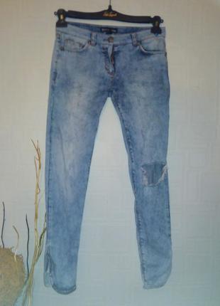 John galliano джинсы.