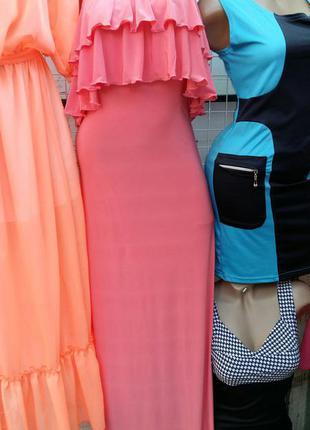 Платье микро-масло