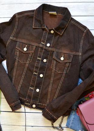 Крута джинсова куртка від crazy world