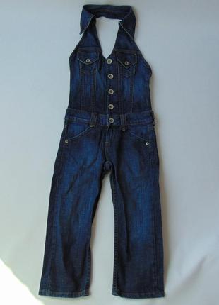 Комбинезон джинсовый с открытой спиной vingino 10 размер