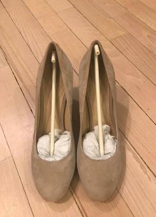 Туфли из натуральной замши geox
