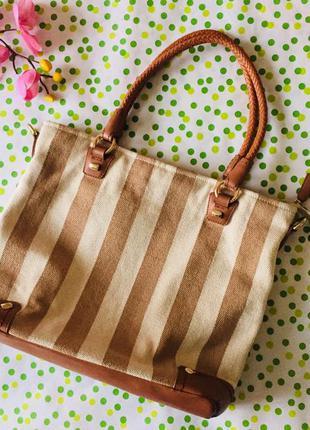 Сумка david jones / сумка для лета/ пляжная сумка/повседневная/ шопер