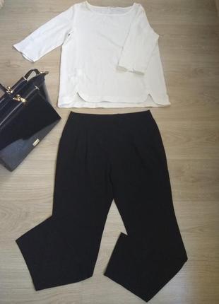 Чёрные классические брюки promod pp l(40), распродажа остатков!