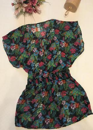 Платье для пляжа м-хл