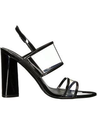 Guess оригинал прозрачные босоножки на широком каблуке бренд из сша