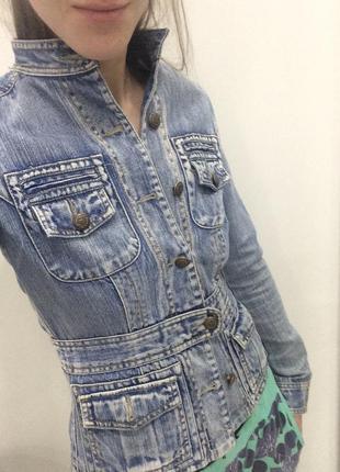 Куртка джинсовая amisu