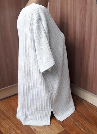 Тонкая фудболка свитерок с коротким рукавом2 фото