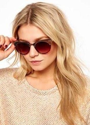 Cолнцезащитные очки asos cat eye.