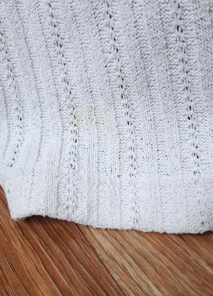 Тонкая фудболка свитерок с коротким рукавом4 фото