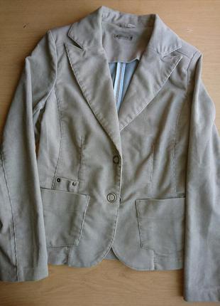 Серый пиджак sela