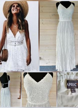 665acffa882 Женские белые кружевные платья 2019 - купить недорого вещи в ...