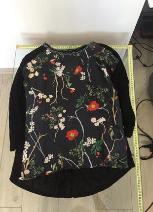 Блуза zara s 7568265800