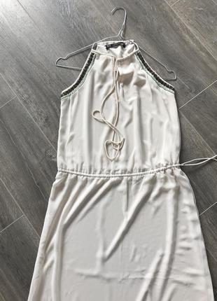 Плаття довге zara