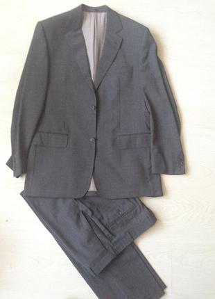 😍👍braga! отличный легкий серый классический костюм!👍👍👍
