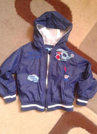 Ветровка куртка на мальчика 2-3 года