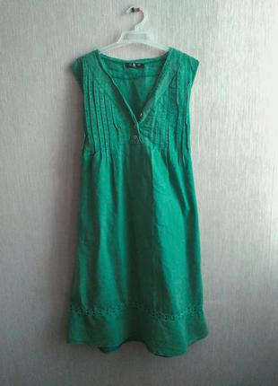 Льняне плаття
