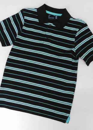 Поло, тениска мужская в полоску kiabi размер s на 44-46 наш
