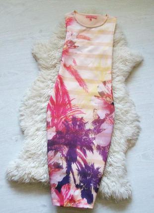 Платье от next с тропическим принтом