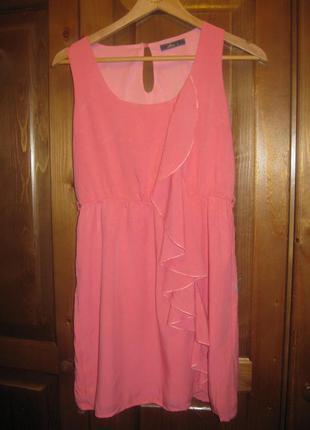 Легенька коротка сукня з віскози