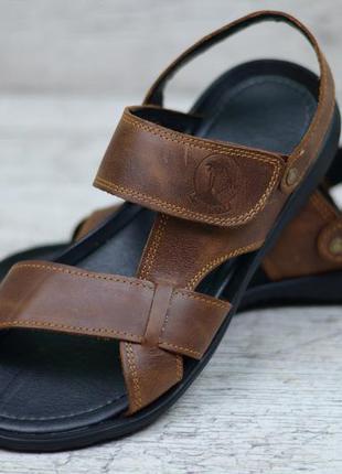 Мужские кожаные сандалии 305