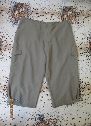 Бриджи / штаны высокая посадка очень большой размер uk 26/ наш 58-60-62-64