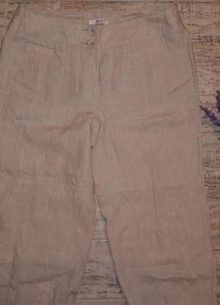 Нові штанці бріджі льон