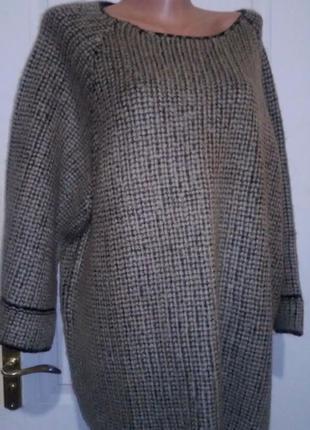 Новый свитер коттон трейдер. батал. пог 67
