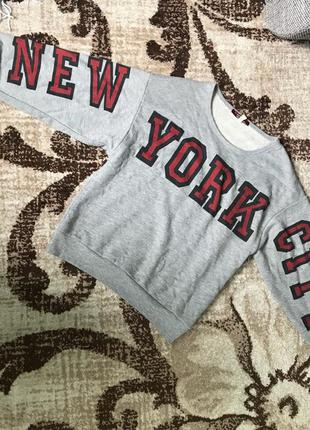 Свитшот new york от bsk