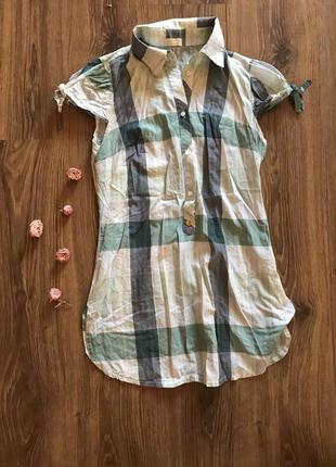 Удлиненная рубашка justor
