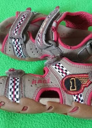 Босоножки сандалии для мальчика