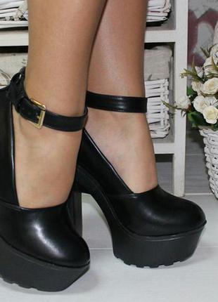 Черные, очень классные туфли