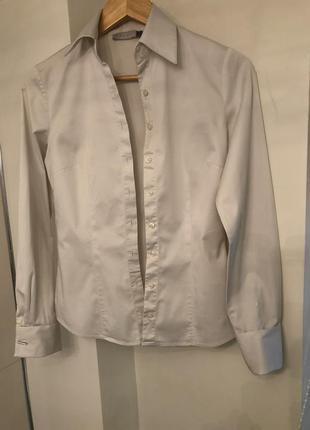 Жемчужная рубашка koton с запонками