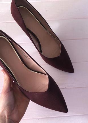 Туфли на низком каблуке mohito 39p