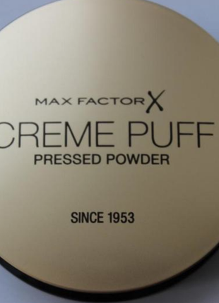 Max factor крем-пудра creme puff оригинал