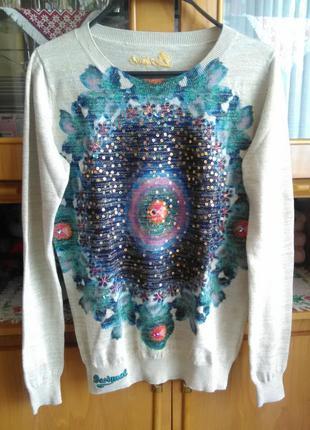 Шикарнейший свитер от desigual