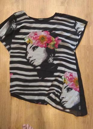 Стильная блуза 52 размер