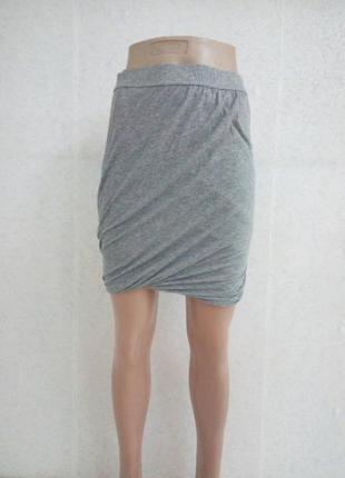 Мини юбка интересного кроя