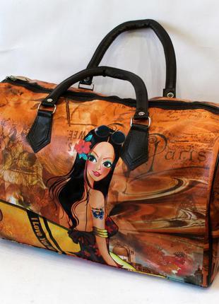 Сумка, сумка дорожная, ручная кладь, бочонок, ручная кладь, женская сумка