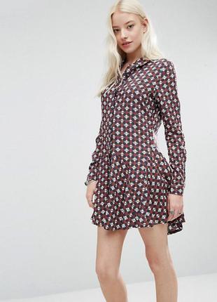Платье рубашка brave soul