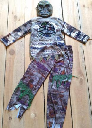 Карнавальный костюм зомби мумия 9 10 лет на хэллоуин