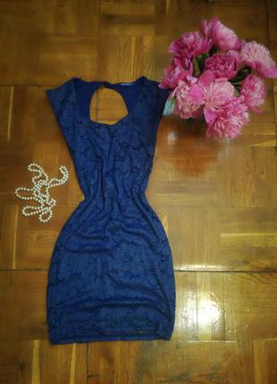 Платье с открытой спиной terranova