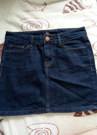 Юбка джинсовая f&f