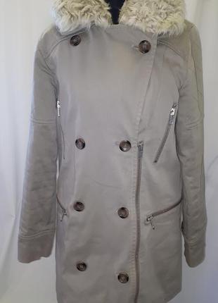 Крутое и теплое пальто reiss
