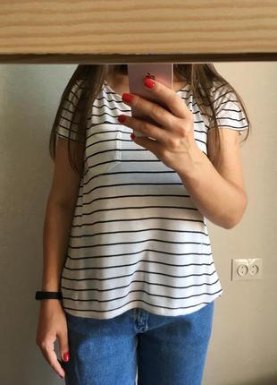 Базовая футболка h&м