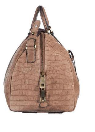 Новая сумка кожаная дорожная hugo boss оригинал нубук