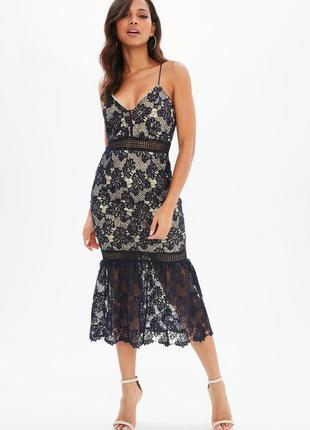 Вечернее платье missguided