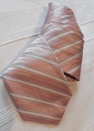 Calvin klein, оригинал! новый! дизайнерский#брендовый#шелковый галстук#краватка.